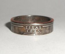 TEXAS STATE QUARTER handmade coin ring or pendant size 4-14