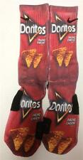 Customized Dorito Nacho Cheese Nike Elite Socks