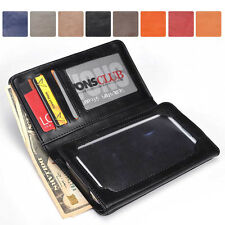 Men-s / Unisex Bi-Fold Bicast Leather Wallet Case M|A9 fits Mobile Smart-Phone