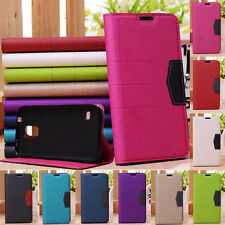 For Apple IPhone 4 4S Glitter PU Flip Wallet Case Cover ID Card Slot + Screen