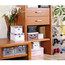 Foldable Documents PP Plastic Drawer Storage Organizer Container Case Shoe Boxes