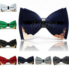 Classic Fashion Adjustable Men Wedding Bowtie Necktie Bow Tie Novelty Tuxedo