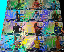 ADRENALYN XL WORLD CUP 2014 KIT HERO CARD SET UPDATE EDITION 1 - 2 SELECT neymar