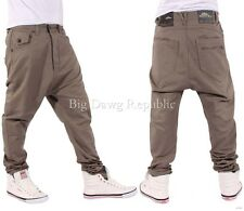 Nappy Boy Men Boys Drop Crotch Hammer Santiago Style Fit Chinos Time Money Is T