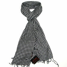 Check Scarf For Men & Women - Ladies Dotted Scarves - Mens Spotty Dotted Sarfs