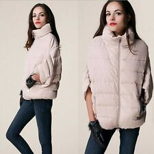 Fashion Women's Models Collar Bat Sleeve Loose Big Yards Cloak Type Coat Jacket