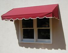 EasyAwn Classic Canvas Window / Door Awning Canopy & Sunbrella Fabric Delivered