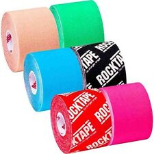 Rocktape (rock tape) Kinesiology Elastic Sports Tape Cross, physio recovery tape