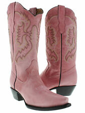 Womens cowboy boots ladies classic western rodeo dance riding biker sexy 2014