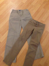2 WOMENS ITEMS 7 seven for all Mankind beige Jean Sz 24 , Preowned!!! DB