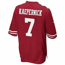 KIDS NEW NFL NIKE COLIN KAEPERNICK SAN FRANCISCO 49ERS STITCHED JERSEY RED