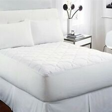 Waterproof Quilted Mattress Pad Protector Eliminates Bed Bugs & Hypoallergenic