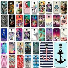 Colorful Romantic Painted Phone Case Skin Fr Samsung Galaxy S3 i9300 S4 S5 i9600