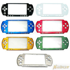 New Front Faceplate Shell Case Cover Replacement For Sony PSP 3000 3001 3006