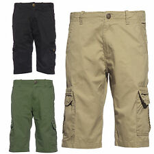New Mens Boys Summer Casual Wear Army Cargo Combat Cotton Travel 3 Colors Shorts