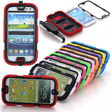 Shockproof Waterproof Survivor Military Duty Case Cover For Samsung Galaxy S3 S4