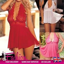New Sexy Lingerie Womens Sleepwear Maternity Nightwear Babydoll Lace Underwear