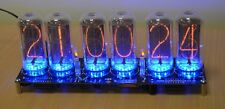 IN-18 Nixie Tube Clock Kit. GPS Synchronisation and Case Options