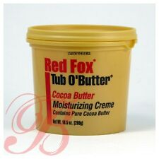 Red Fox Tub O' Butter Moisturizing Creme (Cocoa OR Olive)