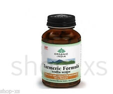 Organic India Turmeric Formula 60 Veg Capsules - Supports healthy joint function