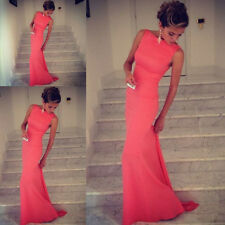 Sexy Womens Bridesmaid Prom Ball Cocktail Party Dress Formal Evening Gown