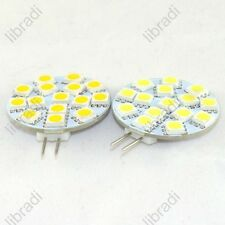 1/10pcs G4 15 SMD 5050 1.5W LED White/Warm White Light Bulb Chip DC12V 200Lumen