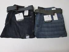 Calvin Klein Men's Relaxed Straight Leg Jeans w/ Belt Various Colors & Sizes NWT