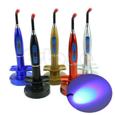 Dental 5W Wireless Cordless LED Curing Light Lamp 1200-2000mw 5 Colors