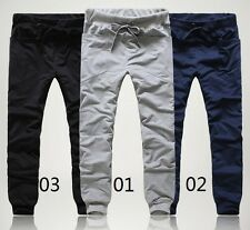 Mens Casual Harem Jogger Pants Baggy HIPHOP Dance Sport Sweat Trousers TRACKSUIT