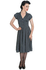 Hell Bunny Harriet Charcoal Dress- NWT Sizes XS- XL