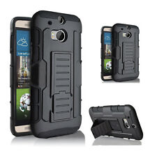 Tough Shock Proof Heavy Duty Stand Hybrid Hard Case Cover For Mobile Phones UK