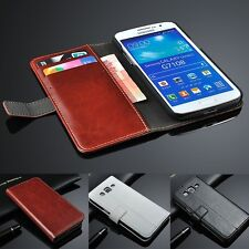 Wallet Flip Leather Case Stand Cover For Galaxy Express2 Trend Core Plus Advance