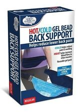 Reusable Hot Cold Therapy Gel Beads Lower back Support Gel Pack Ice Pack Heat