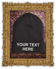 Custom Embroidered Beanie Your Text Your Font Your Colour
