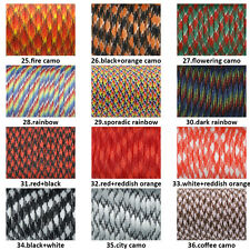 550 Paracord Parachute Cord Mil Spec Type III 7 Strand Core Rope Lanyard #C25~36