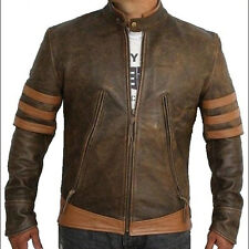 LEATHER NEXT Wolverine X-Men Origins Leather Jacket Replica NEW IN STOCK
