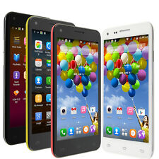 "4.5"" Smart Cell Phones Unlocked Android 4.4 Quad Core 3G Straight Talk T-Mobile"