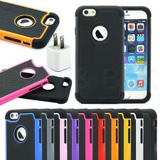 """Shockproof Dirt Dust Proof PC Hard Matte Rugged Case Cover For 4.7"""" iPhone 6 S"""