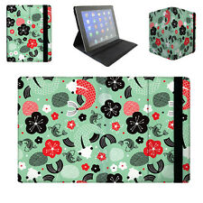 Koi Carp Asian Fish Tablet Folio Case for iPad, Kindle, Samsung Galaxy Tab, & ..
