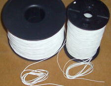 Shade Blind Lift Cord 100 FEET 0.9mm - 1.4mm White FREE SHIPPING