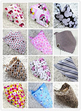 New Baby's Easy Wipe Lightweight Bib  Triangular scarf - headkerchief  25 Colors