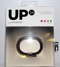 Brand New Jawbone UP24 Wireless Activity Tracker Onyx with All Size