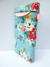 IPhone 4 5 S C Cover Case Pouch Handcrafted✂ water–repellent Cath Kidston fabric