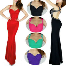 PRETTY GIRL Sexy Bridesmaid Celebrity Party Evening Formal Pageant PROM Dresses