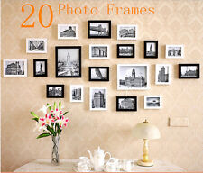 Wall Hanging Art Home Decor Modern 20 Pcs Picture Photo Frame Set