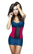 Deportiva Shapewear Workout, Latex,Waist Cincher Trainer,Red, Exercise Colombian