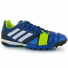 Adidas Nitrocharge 2.0 TRX Mens Astro Turf Trainers Blue/Wht Football Soccer