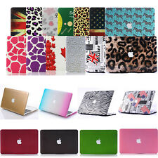 "Pattern Matte Hard Case Cover Skin for Apple MacBook Air 11""/ Pro 13 15 Retina"