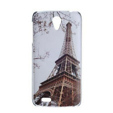 New Eiffel Tower Hard Back Case Cover + LCD Film For Lenovo S820 S920 A850 S930