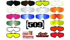 509 SINISTER SNOWMOBILE GOGGLE LENSES FREE SHIPPING SMOKE CHROME RED CLEAR NEW